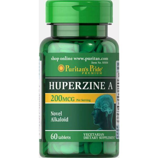 Huperzine A 200 mcg-60 tablete
