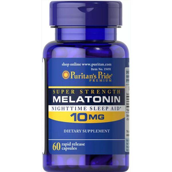 Melatonina 10 mg-60 capsule