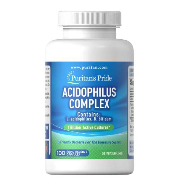 Probiotic Acidofilus Complex-100 capsule