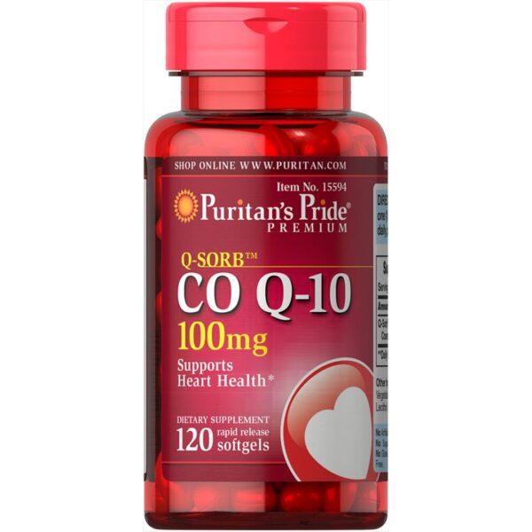 Coenzima Q10 100 mg-120 capsule