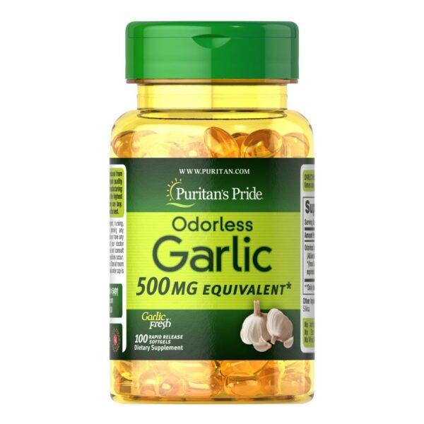 Usturoi fara miros 500 mg-100 capsule
