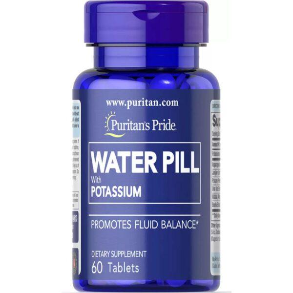 Pilula de apa cu Potasiu-60 tablete