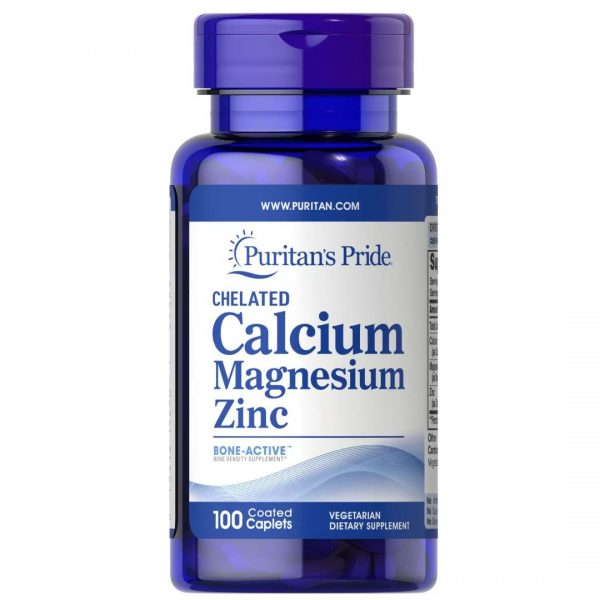 Chelat Calciu Magneziu Zinc-100 comprimate