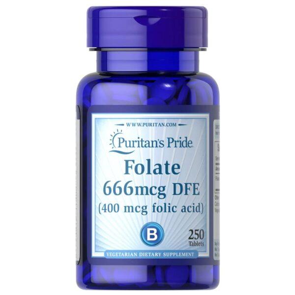 Folate-Acid folic 400 mcg-250 tableta