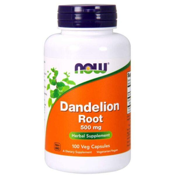 Papadie Radacina Dandelion 500 mg-100 capsule
