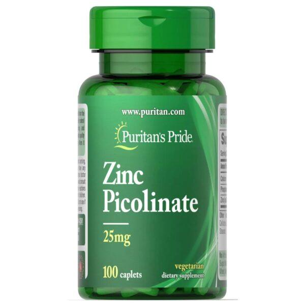 Zinc Picolinat 25 mg-100 comprimate