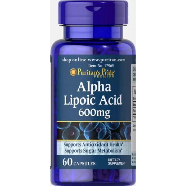 Acid Alfa Lipoic 600 mg-60 capsule