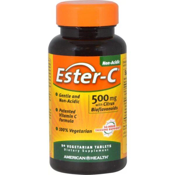 Ester C®cu Bioflavonoide 500 mg-90 tablete