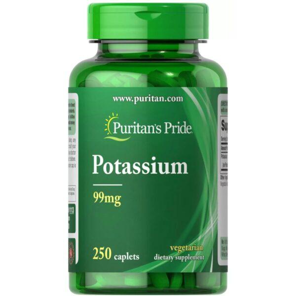Potasiu 99 mg-250 tablete