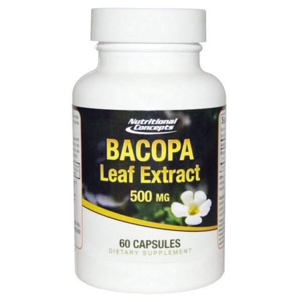 Bacopa Frunze Extract 500 mg-60 capsule