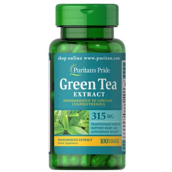 Ceai Verde extract 315 mg-100 capsule
