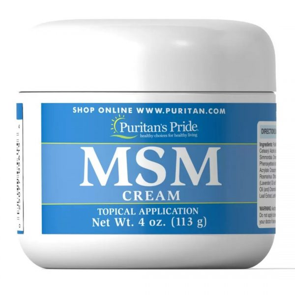 MSM Crema-113 g