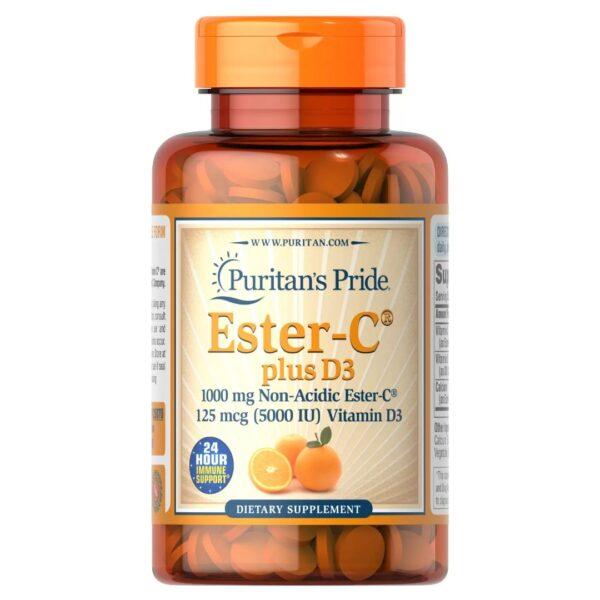 Ester-C® Plus Vitamina D3-60 tablete