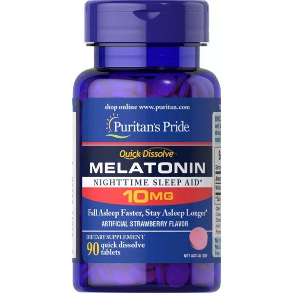 Melatonina 10 mg-90 tablete masticabile