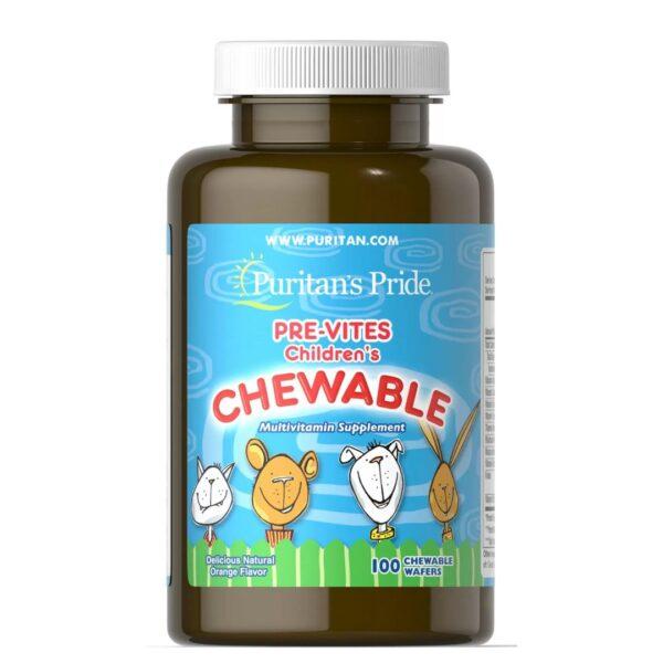 Multivitamine pentru copii-100 masticabile