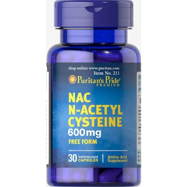Acetilcisteina NAC 600 mg-30 capsule