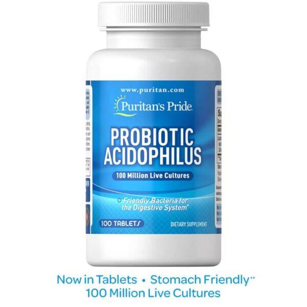 Probiotic Acidofilus-100 comprimate