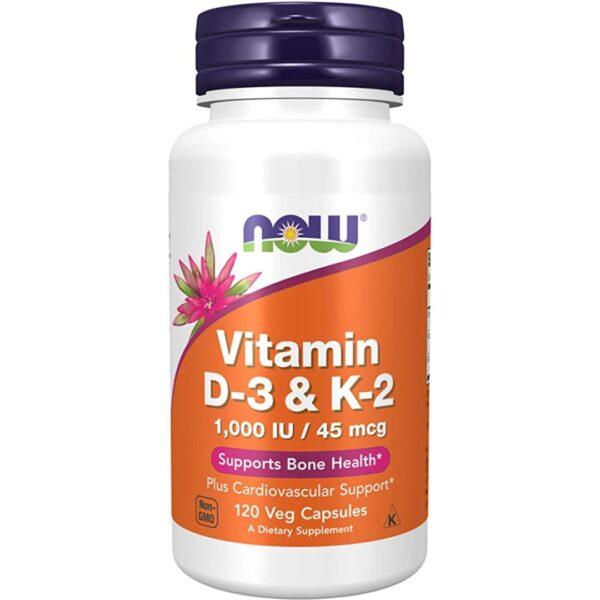Vitamina D si Vitamina K2 -120 capsule