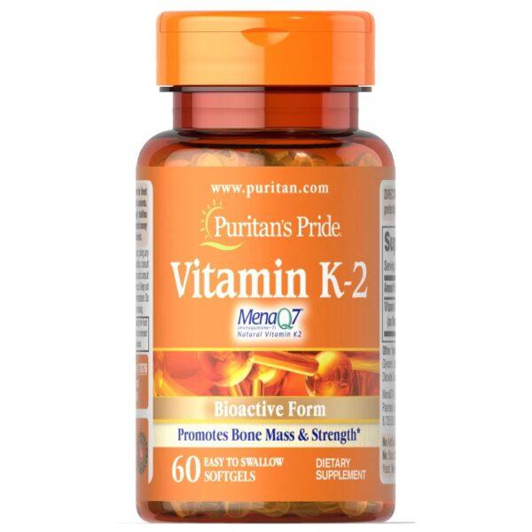 Vitamina K-2(MenaQ7)-60 capsule