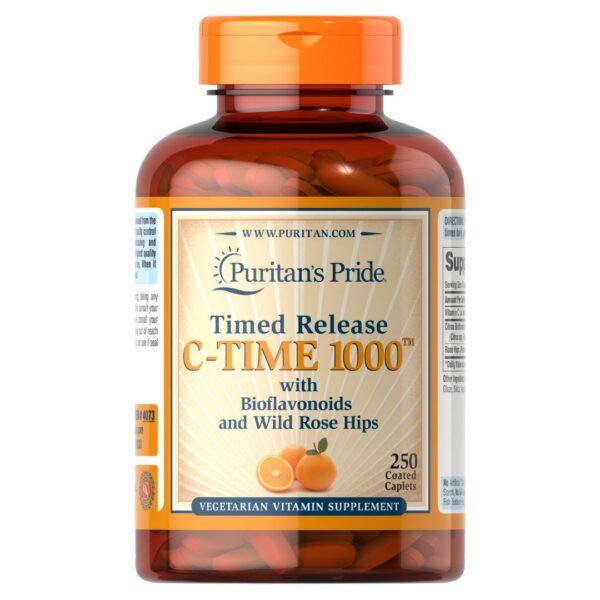 Vitamina C 1000 mg Eliberare prelungita-250 comprimate