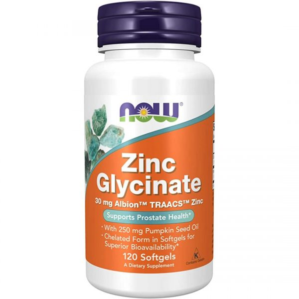 Zinc Glycinate 30 mg-120 capsule