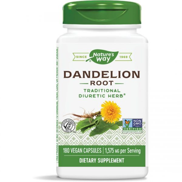 Papadie Radacina Dandelion 525 mg-180 capsule