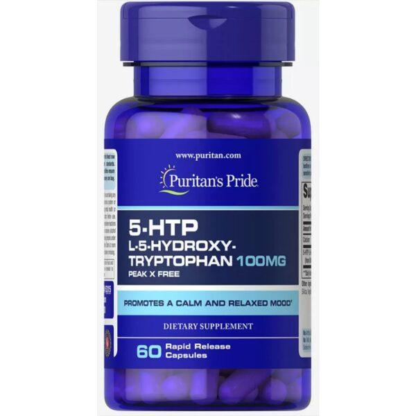 5 HTP Griffonia Simplicifolia 100 mg-60 capsule