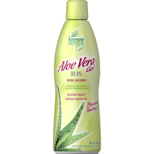 Aloe Vera Gel Drink 99.3%-946 ml.