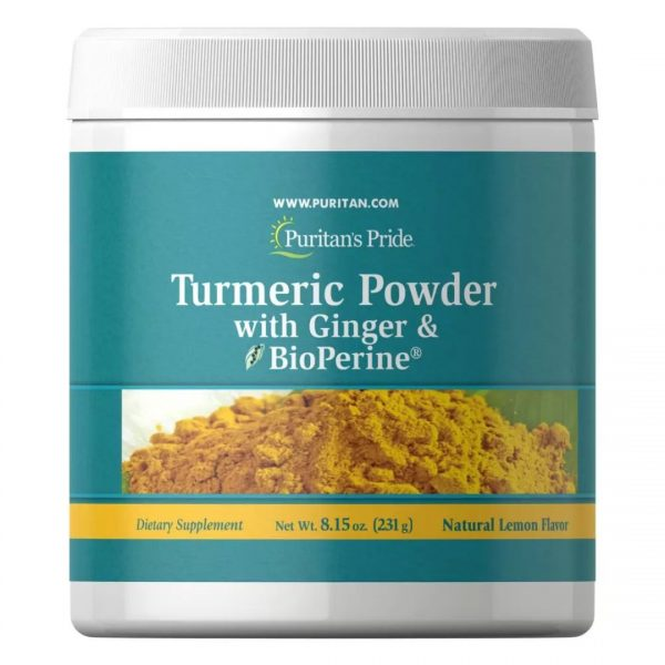 Turmeric Pudra cu Ghimbir & BioPerine®-231 g