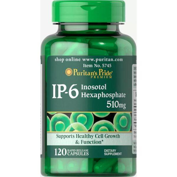 IP-6 Inositol Hexafosfat 510mg-120 capsule