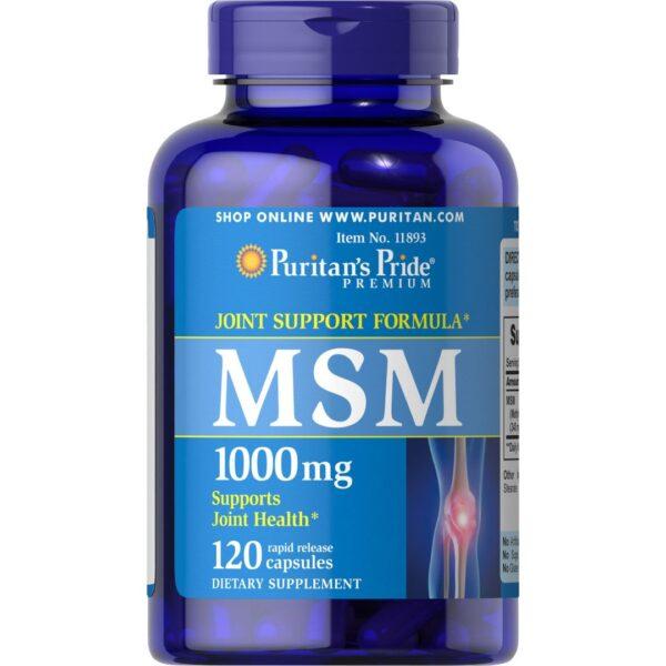 MSM 1000 mg-120 capsule
