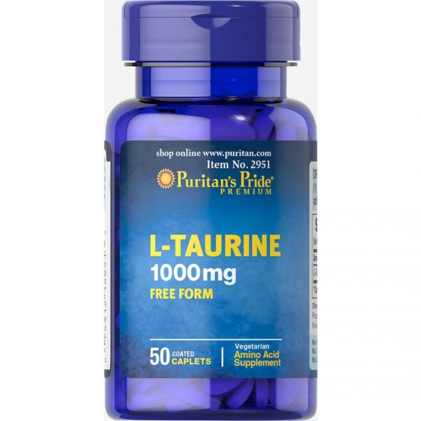 Taurina 1000 mg-50 comprimate