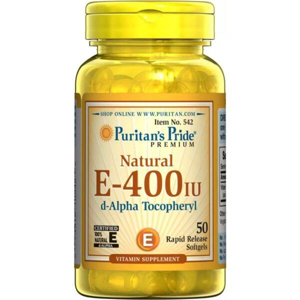 Vitamina E Naturala 400 IU-50 capsule