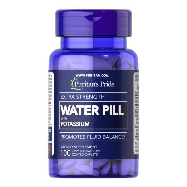 Pilula de apa cu Potasiu Extra Strength Water Pill™-100 tablete