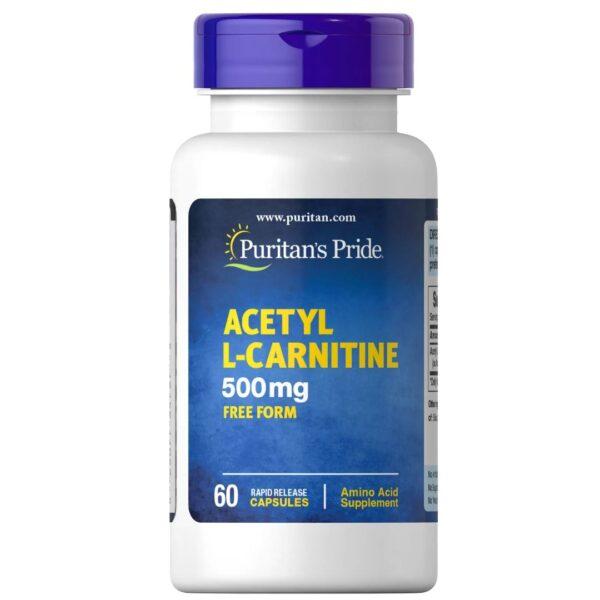 Acetyl L-Carnitine 500 mg-60 capsule