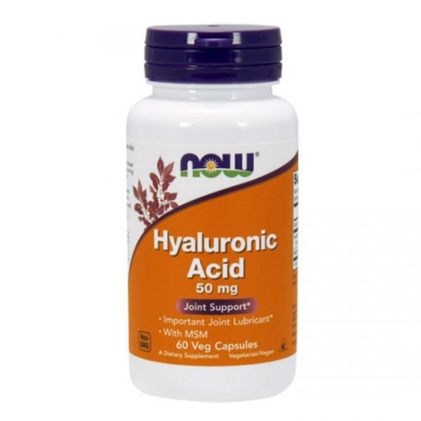 Acid Hialuronic cu MSM-60 capsule