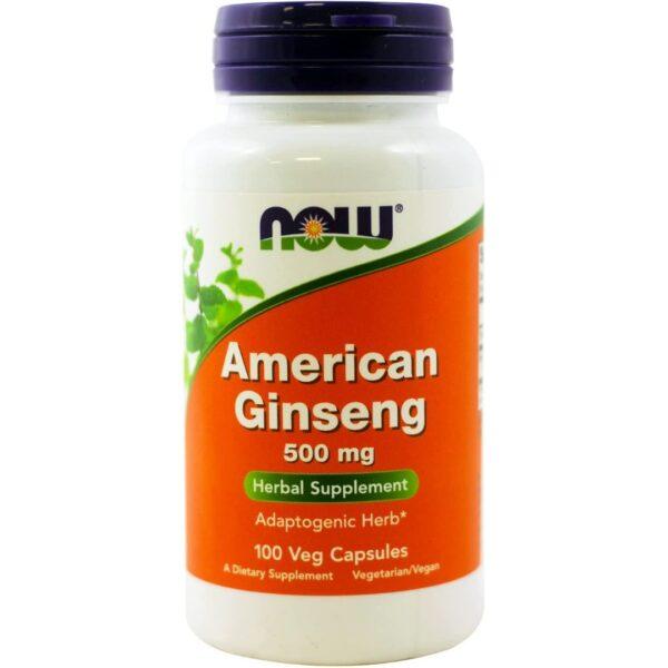 American Ginseng 500 mg-100 capsule