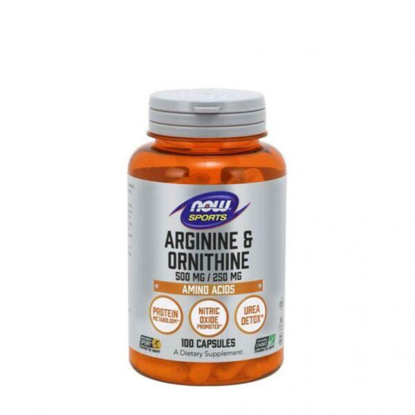 L-Arginina si Ornitina-100 capsule