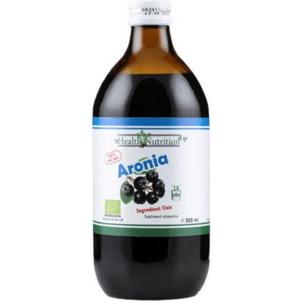 Aronia BIO 100% Suc pur-500 ml
