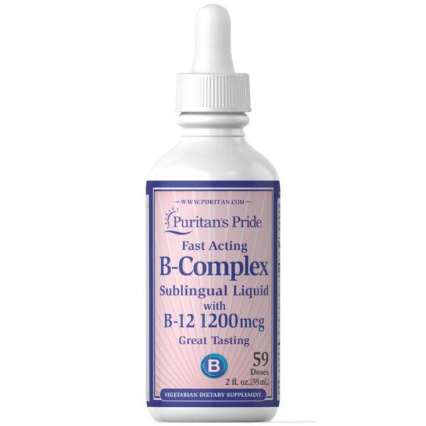 B Complex cu B 12 Sublingual-59 ml
