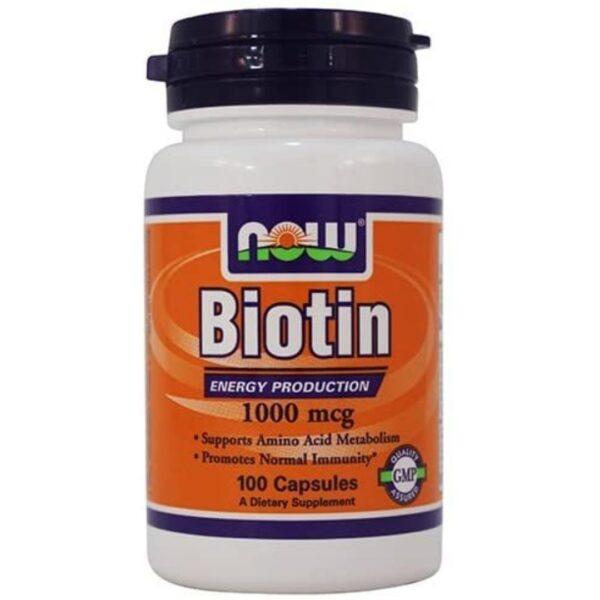Biotina 1000 mcg-100 capsule