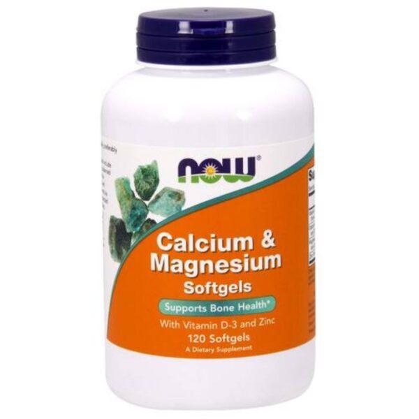 Calciu Magneziu Vitamina D si Zinc-120 capsule