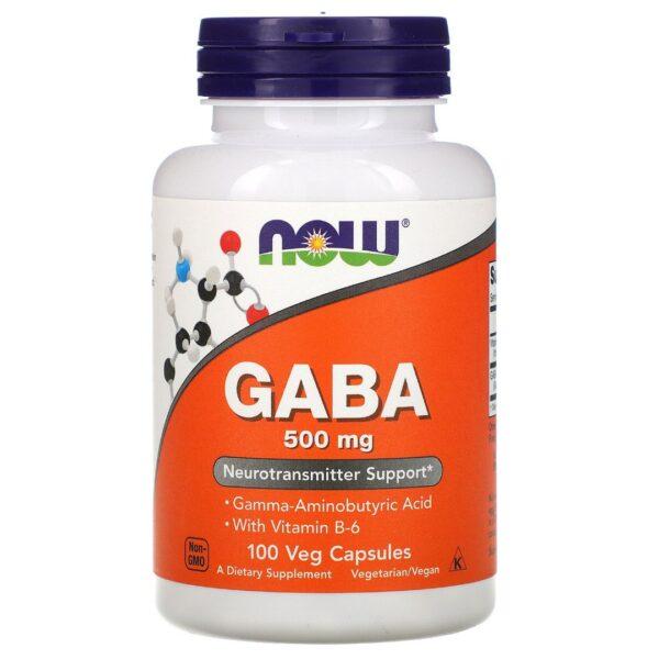 GABA 500 mg-100 capsule