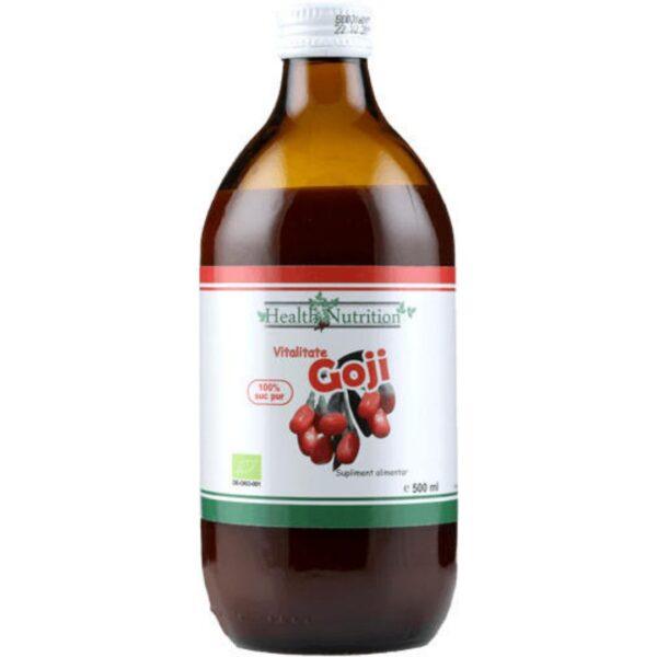 Goji BIO 100% Suc pur-500 ml