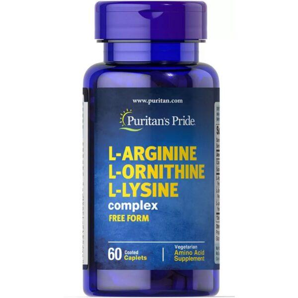 L-Arginina L-Ornitina L-Lizina -60 comprimate