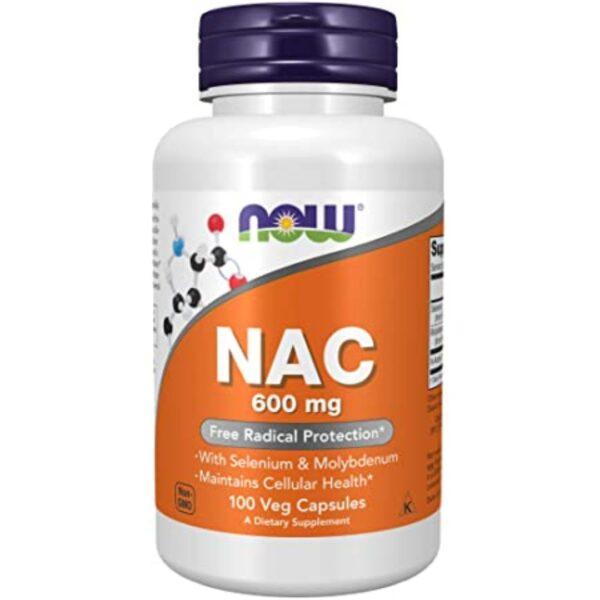 Acetilcisteina NAC 600 mg-100 capsule