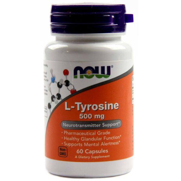 L-Tyrosine 500 mg(Tirozina)-60 capsule