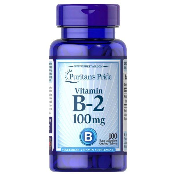 Vitamina B-2 (Riboflavina) 100 mg-100 comprimate