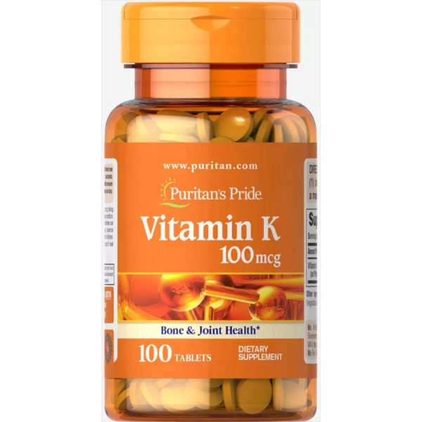 Vitamina K 100 mcg-100 tablete