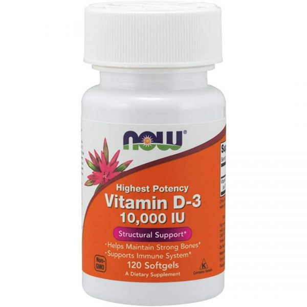 Vitamina D 3 10000 IU-120 capsule